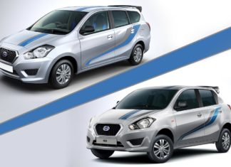 Datsun Go and Datsun Go+ Anniversary Edition
