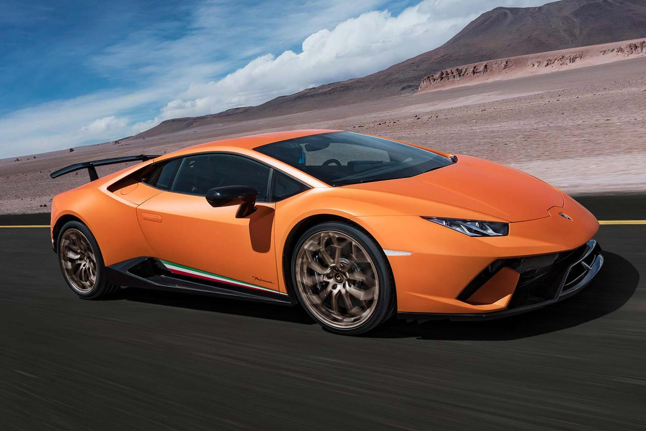 Record Breaking Lamborghini Huracan Performante Launched
