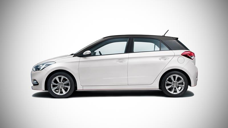 New 2017 Hyundai I20 Dual Tone Polar White With Phantom