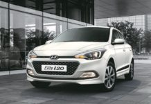 New 2017 Hyundai i20 Polar white front quarter