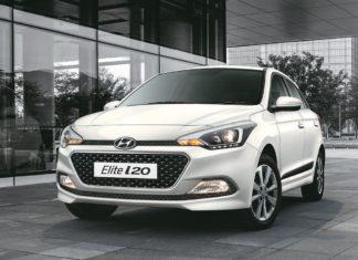 New 2017 Hyundai i20 Polar white front quarter