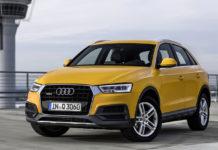 New Audi Q3 front left quarter