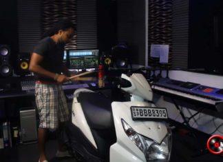 Honda Dio Scooter Music by Chamila Warna Jayalath