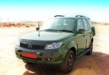 tata safari storme 4x4 gs800 indian army