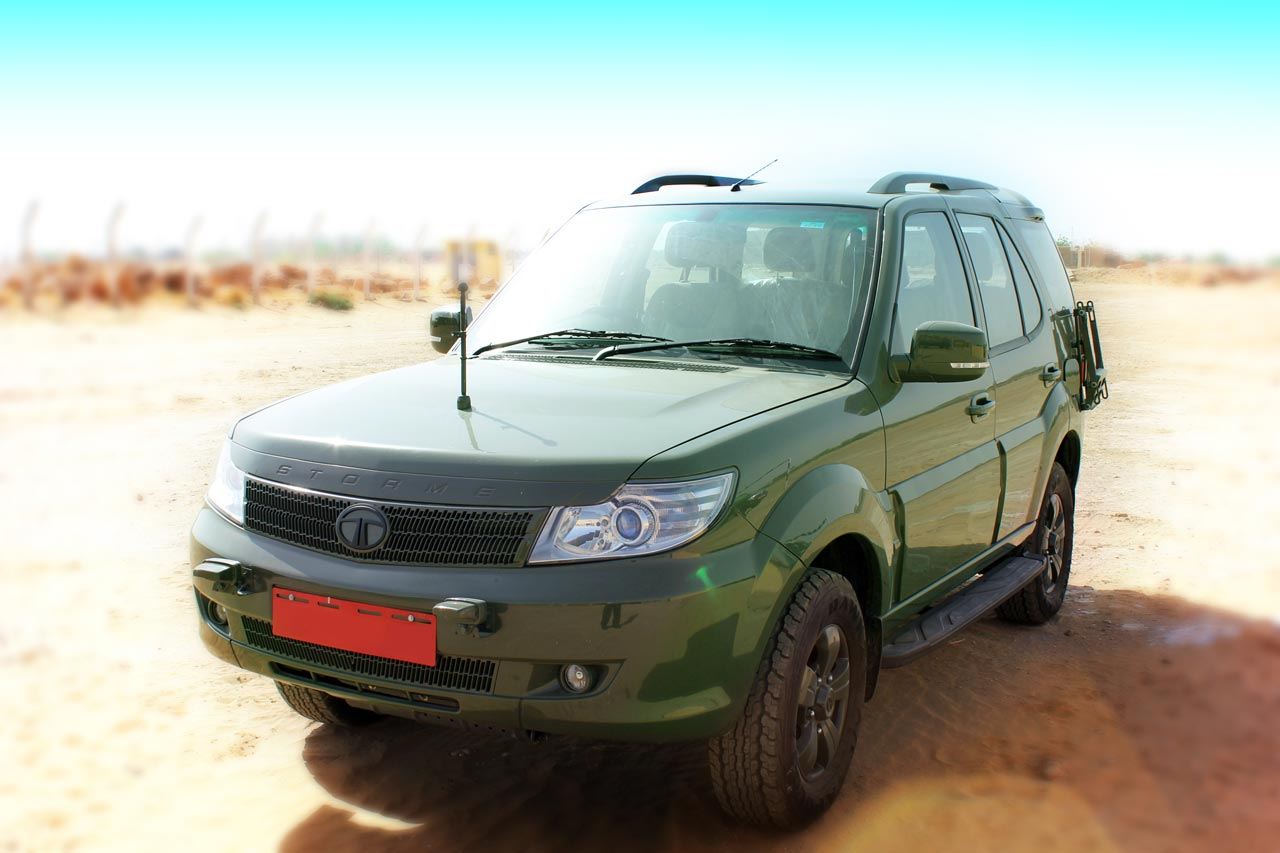 Tata Safari Storme 4X4 GS800 for Indian Army