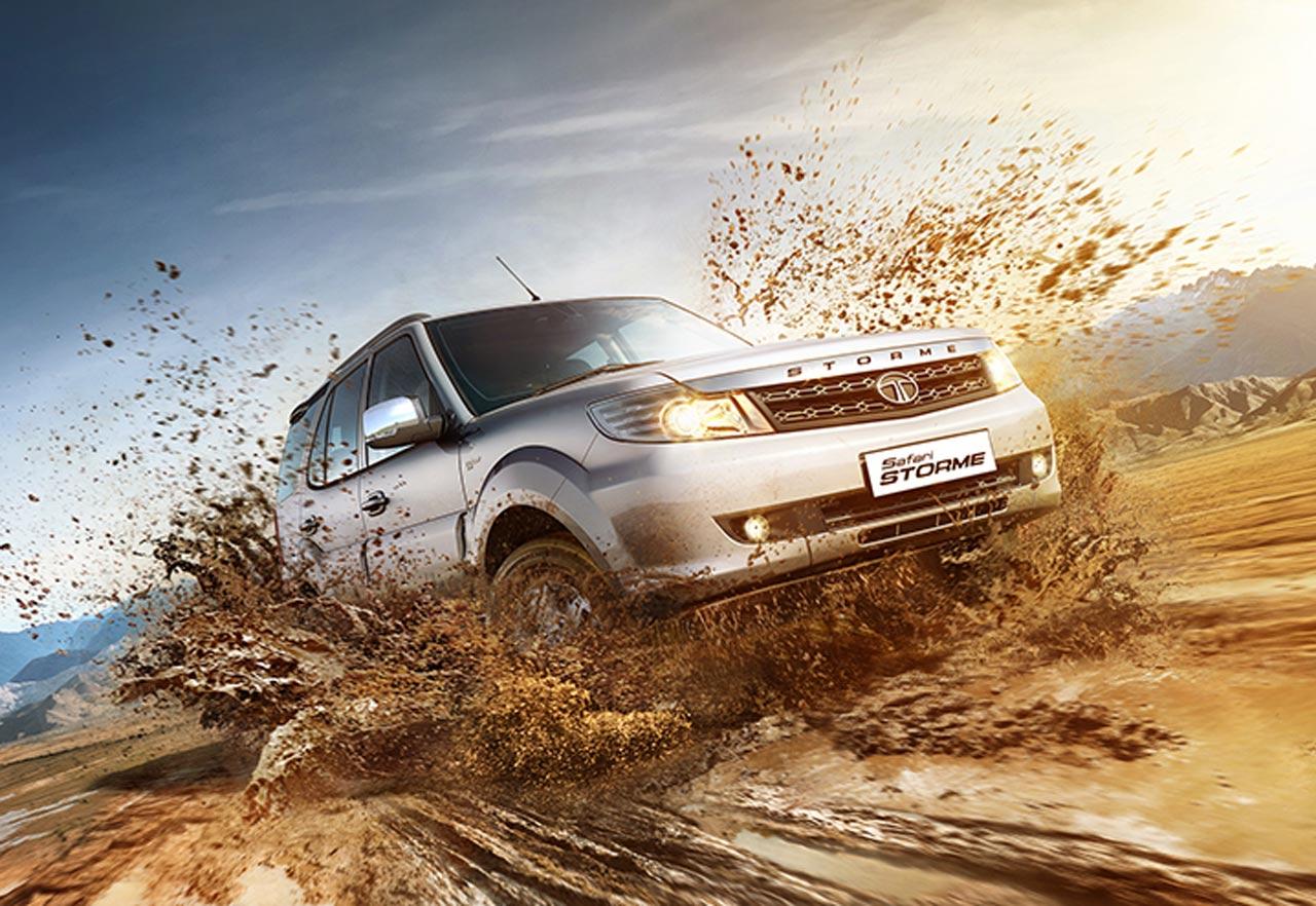 Tata Safari Storme 4X4 off road