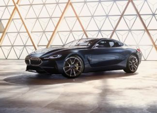 2017 bmw 8 series coupe concept front right quarter