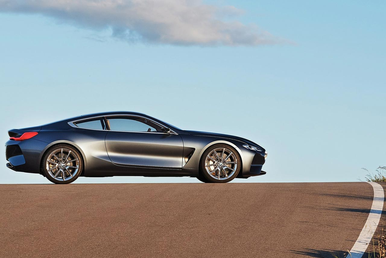 2017 Bmw 8 Series Coupe Concept Left Side Autobics