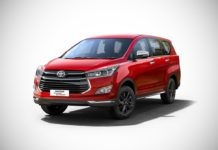 2017 toyota innova touring sport wildfire red