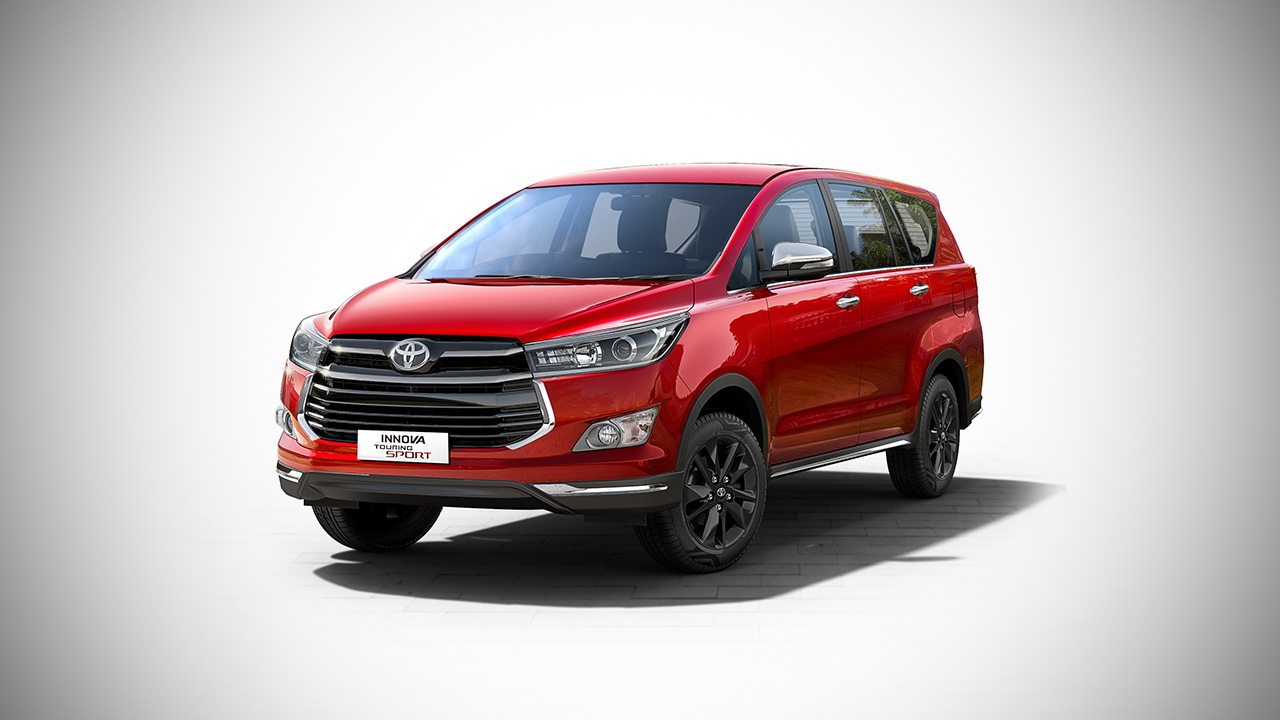 2017 Toyota Innova Touring Sport launched in India - AUTOBICS