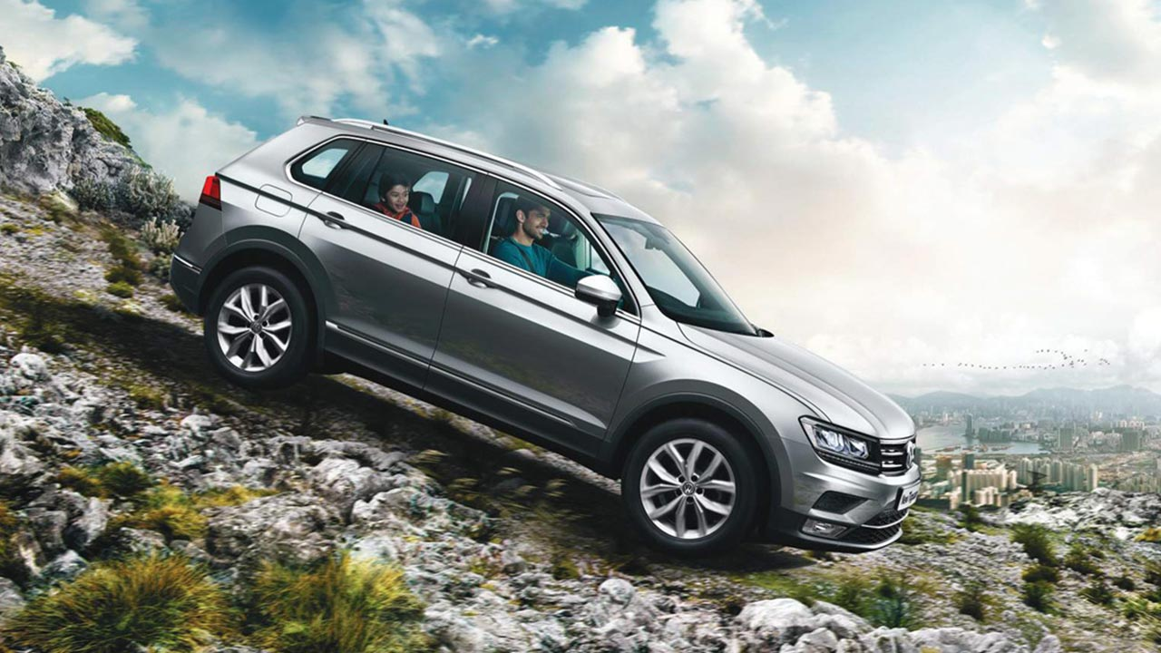 2017 volkswagen tiguan launched in india priced at inr 27. Black Bedroom Furniture Sets. Home Design Ideas