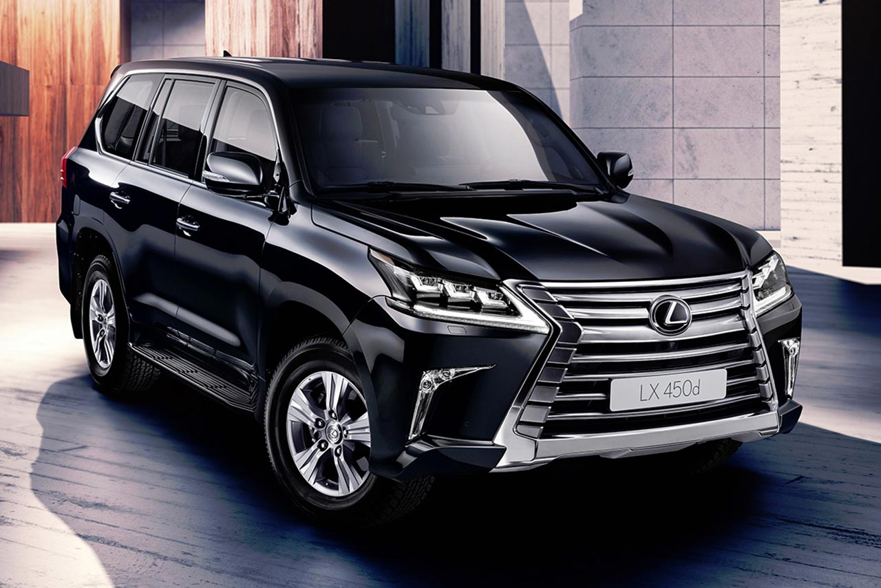 lexus lx 450d priced at inr crore in india autobics. Black Bedroom Furniture Sets. Home Design Ideas