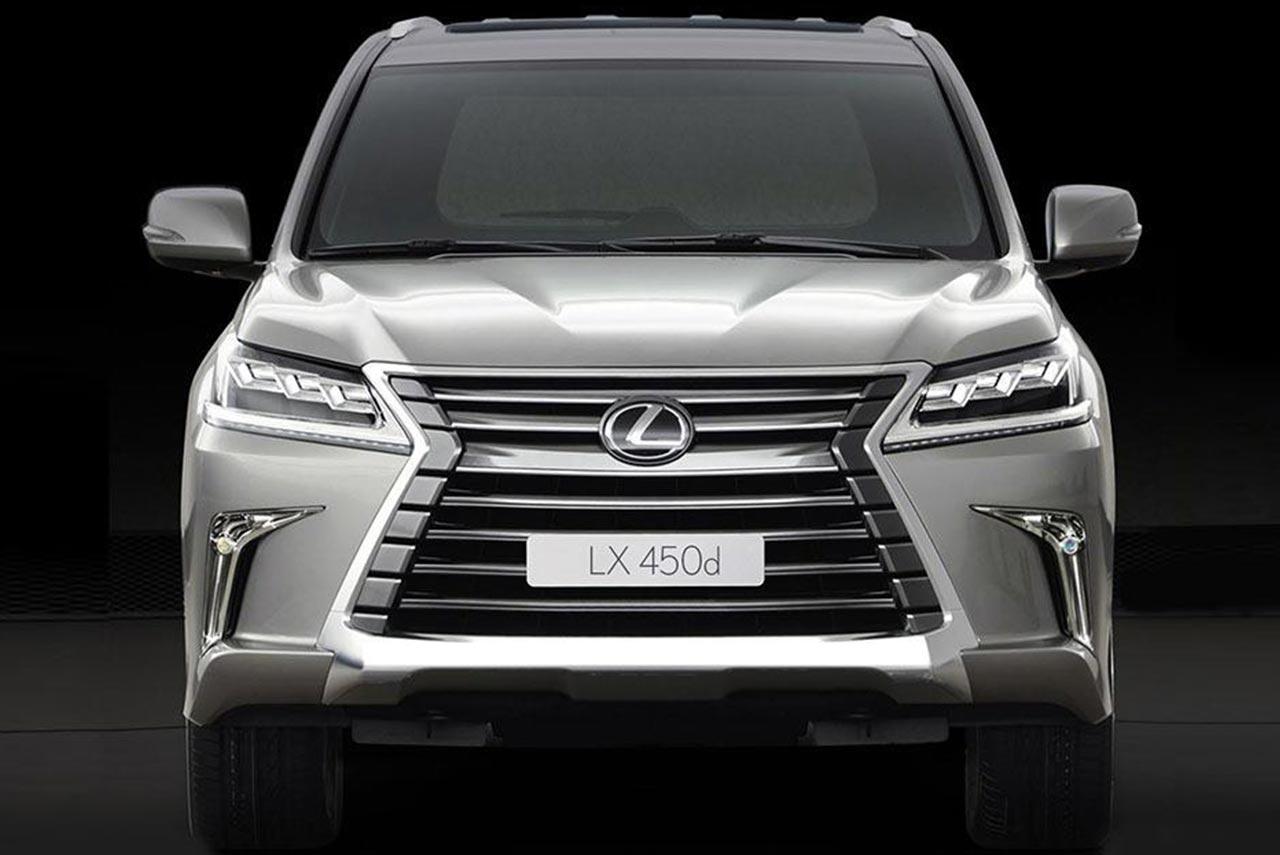 Lexus Lx 450 Lexus Lx 450d Priced At Inr 2 32 Crore In
