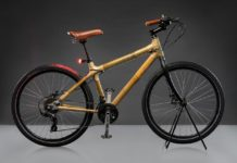 godrej bambusa urban brown bicycle