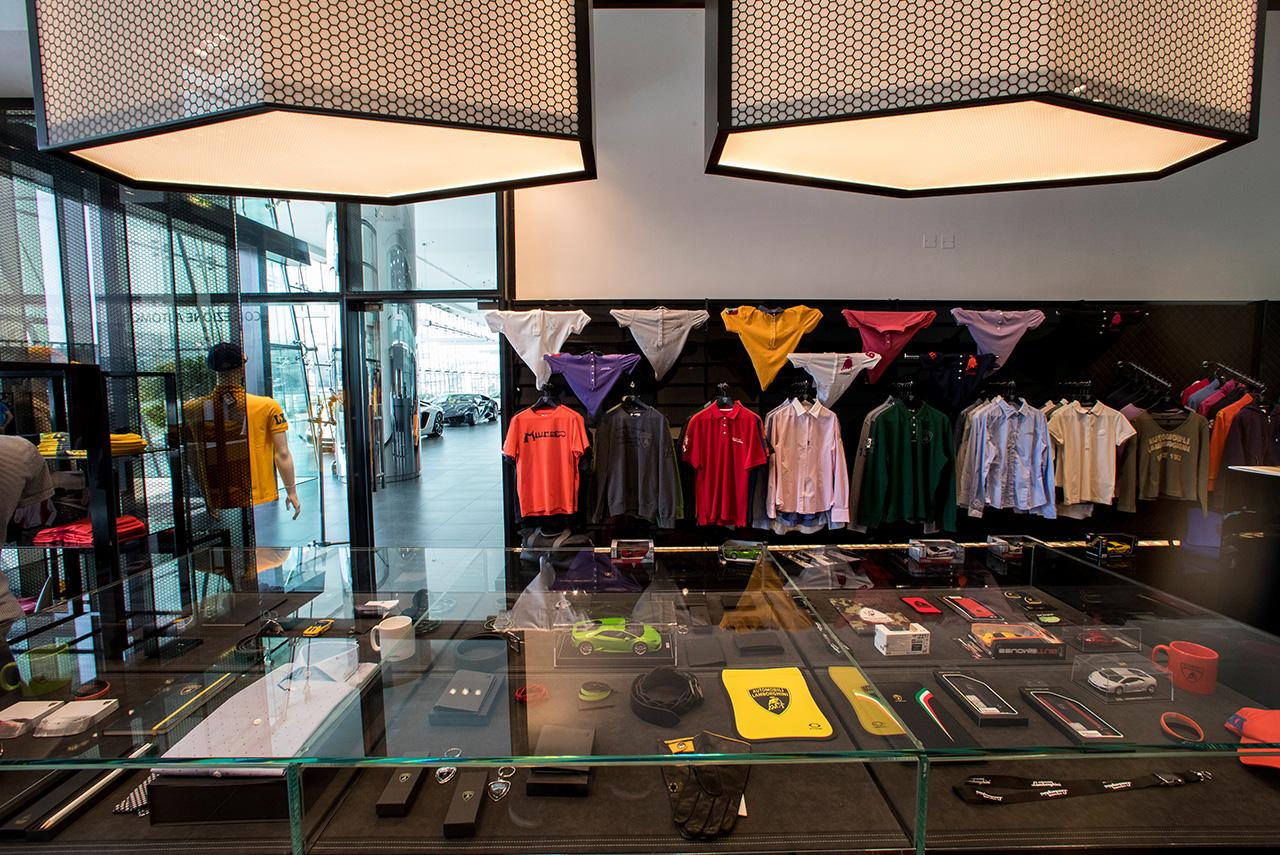 Lamborghini Dubai Showroom Merchandise Autobics