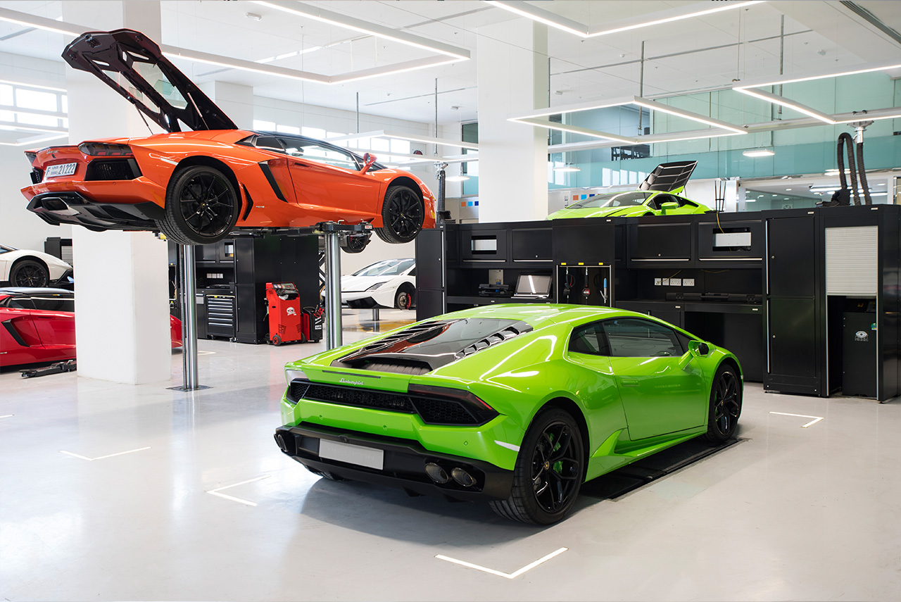 Do Check Out The Largest Lamborghini Showroom If You Visit