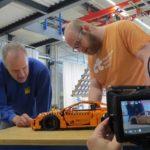 lego porsche crash test adac ct magazine preparations