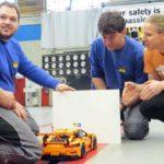 lego porsche crash test adac ct magazine setup