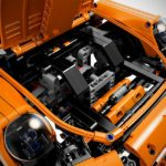 lego technic porsche 911 gt3 rs luggage space