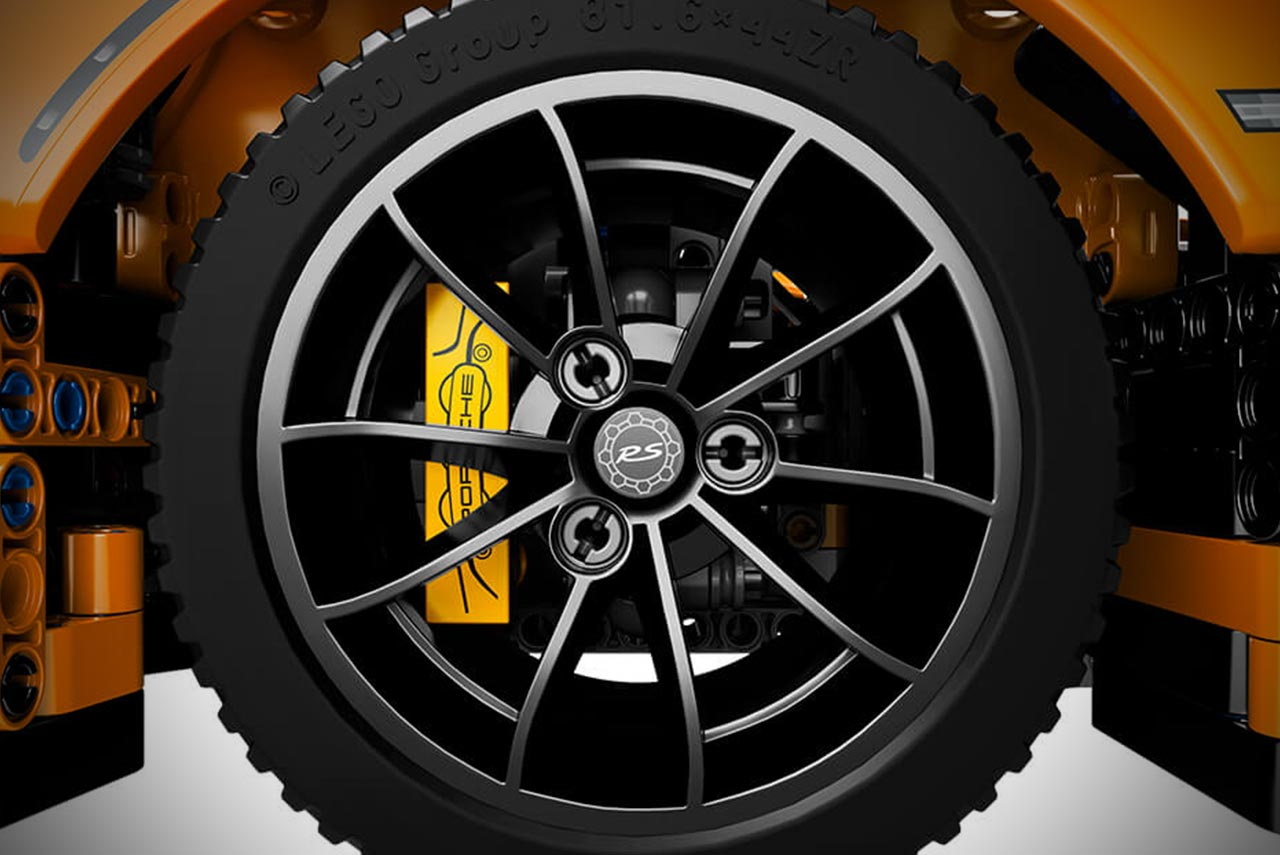 Lego Technic Porsche 911 Gt3 Rs Alloy Wheel Autobics