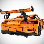 lego technic porsche 911 gt3 rs rear