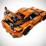 lego technic porsche 911 gt3 rs rear quarter