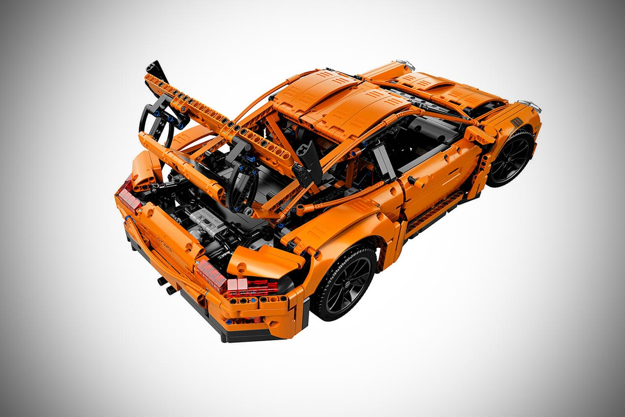 a lego technic porsche 911 gt3 rs was crash tested by adac. Black Bedroom Furniture Sets. Home Design Ideas