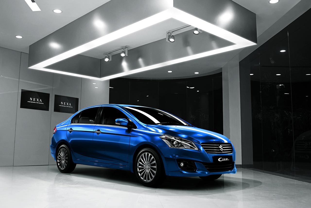 Maruti Suzuki Ciaz Blue Nexa Autobics