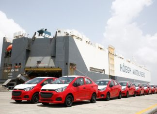 2017 chevrolet beat sedan exported by GM India