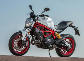 2017 ducati monster 797 front left