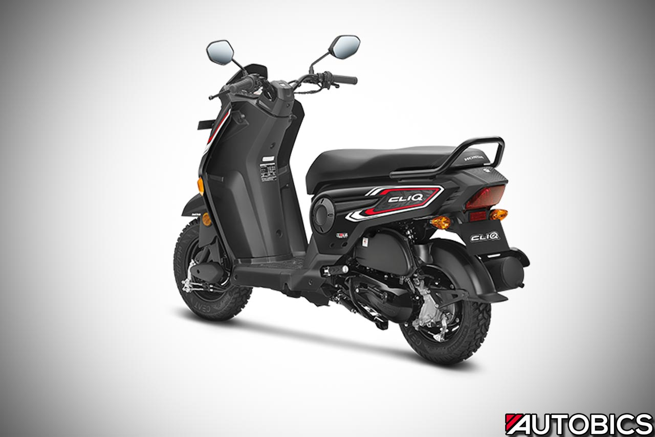 2017 Honda Cliq Rear Left Autobics