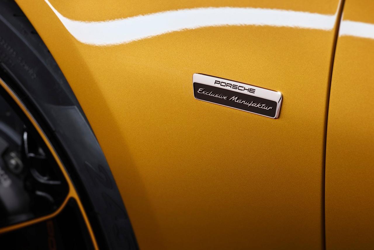 2018 Porsche 911 Turbo S Exclusive Series Fender Badge