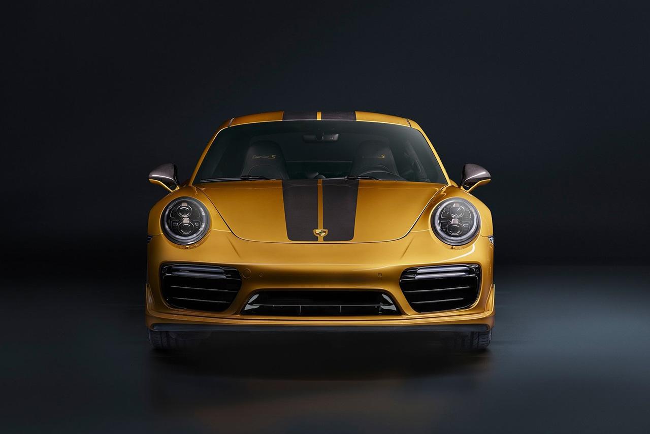 2018 porsche 911 turbo s exclusive series front autobics. Black Bedroom Furniture Sets. Home Design Ideas