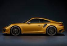 2018 Porsche 911 Turbo S Exclusive Series side