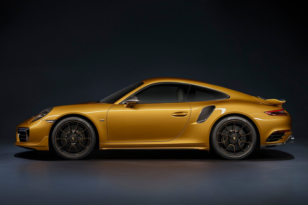 The New 2018 Porsche 911 Turbo S Exclusive Series With