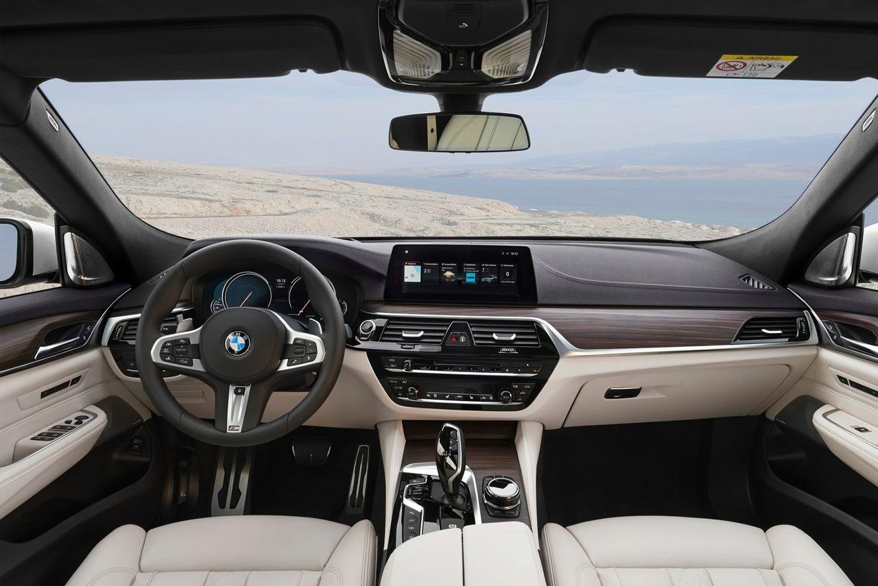 The all new 2018 bmw 6 series gran turismo unveiled autobics - Turismo interior ...