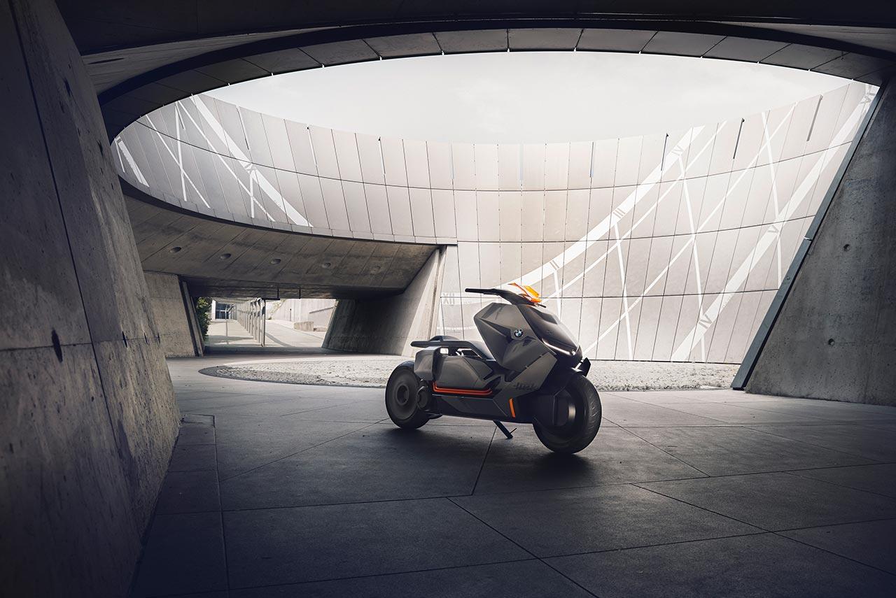 BMW Motorrad Concept Link front quarter