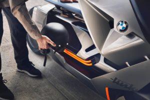 BMW Motorrad Concept Link luggage