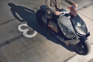 BMW Motorrad Concept Link top view