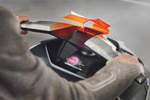 BMW Motorrad Concept Link windshield