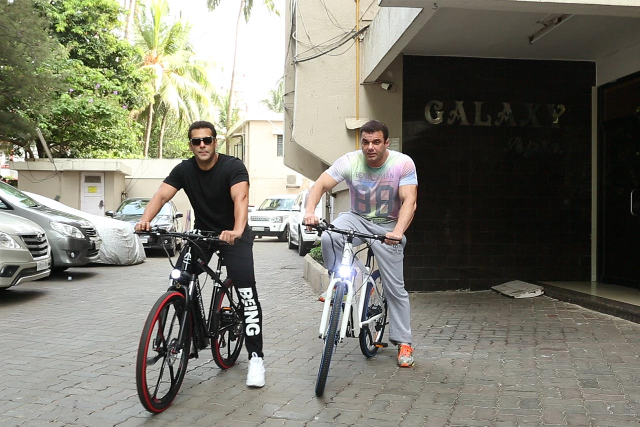 Maserati Ghibli Price >> Being Human E-Cycle launched by Salman Khan on World ...