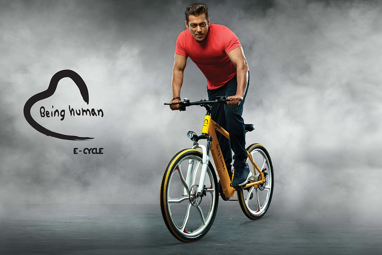 Being Human E Cycle Launched By Salman Khan On World
