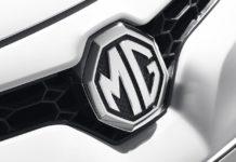 mg motor india logo