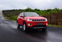 2017 jeep compass rolling shot