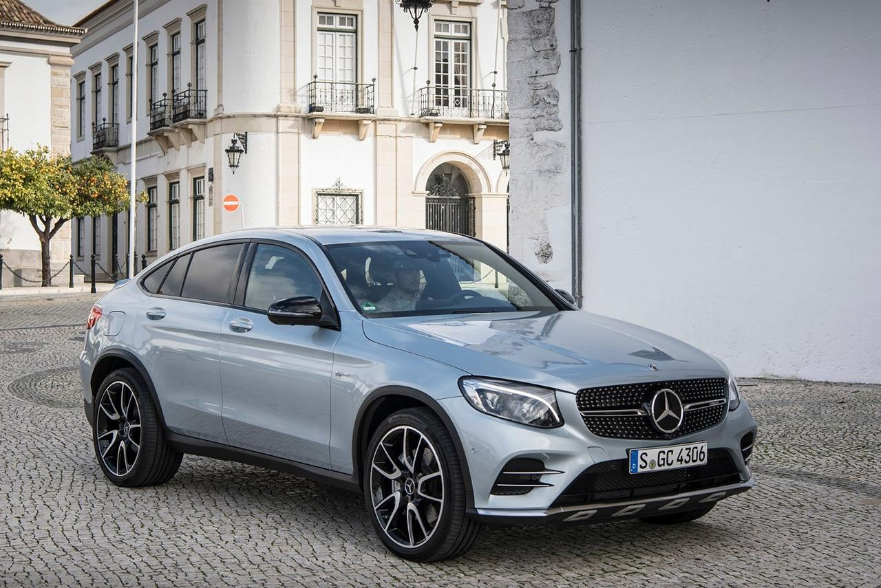 Mercedes amg glc 43 4matic coupe launched in india autobics for 2017 amg glc 43 coupe mercedes benz