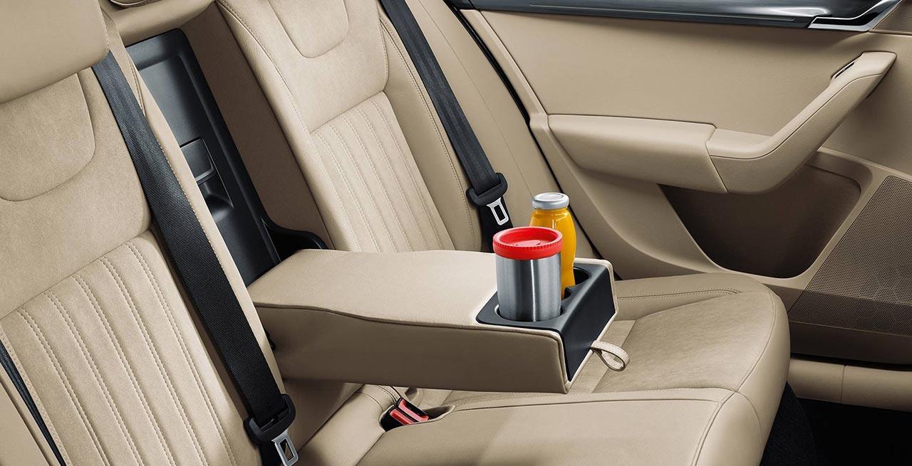 2017 Skoda Octavia Rear Seat Autobics