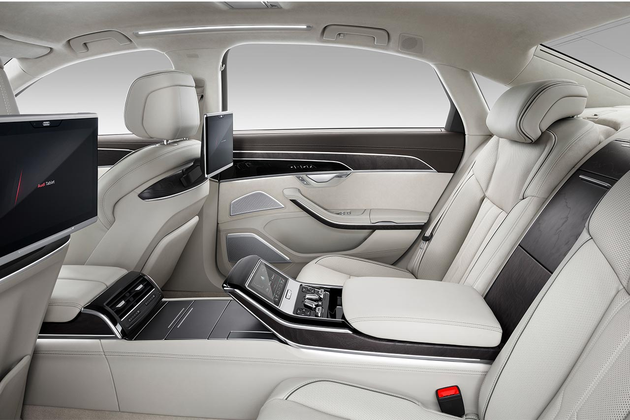 Audi A L Interior Rear AUTOBICS - 2018 audi a8