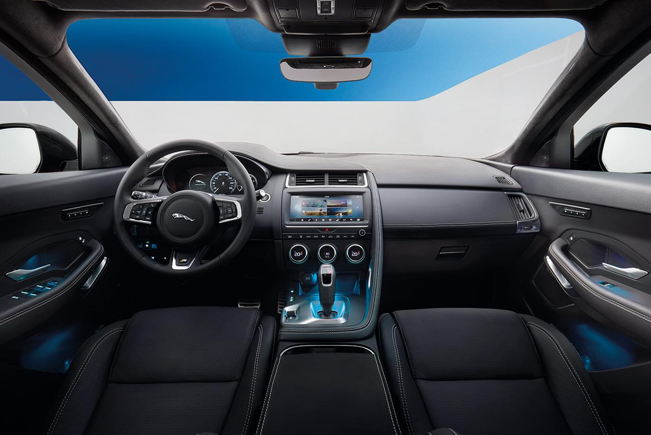 jaguar e pace the most playful car in the company 39 s history autobics. Black Bedroom Furniture Sets. Home Design Ideas