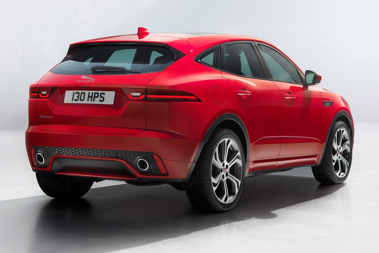 Новый jaguar e-pace 2018 - фото, характеристика, цена