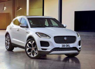 2018 jaguar epace front quarter